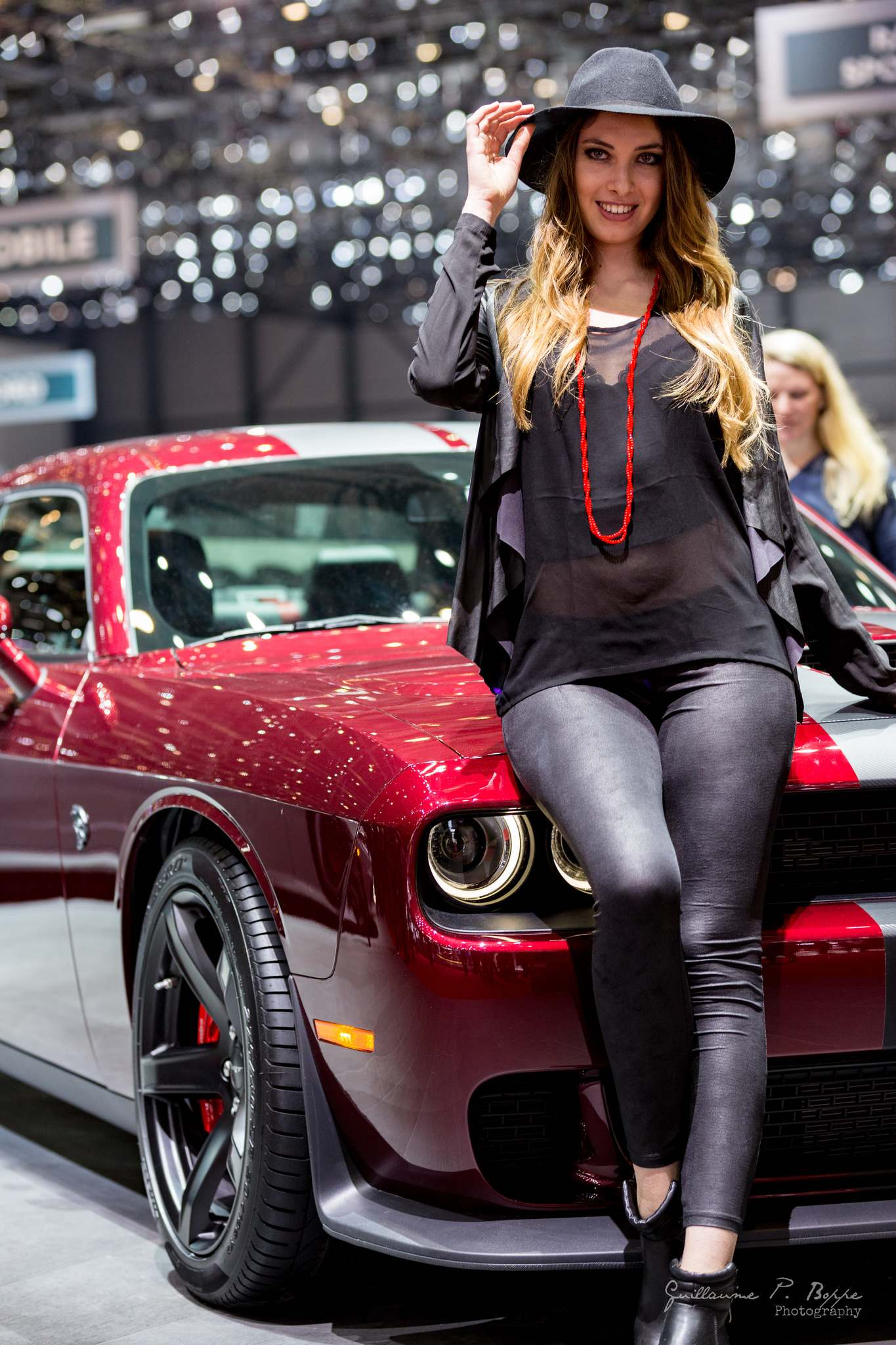 sexy hostess5 Beauty at Geneva International Motor Show 2017