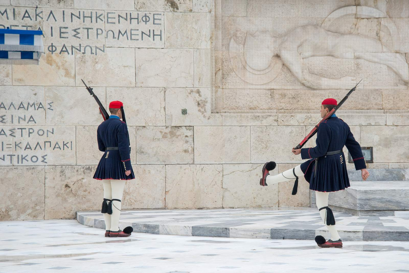 changing guards2 The Changing of Guards in Athens