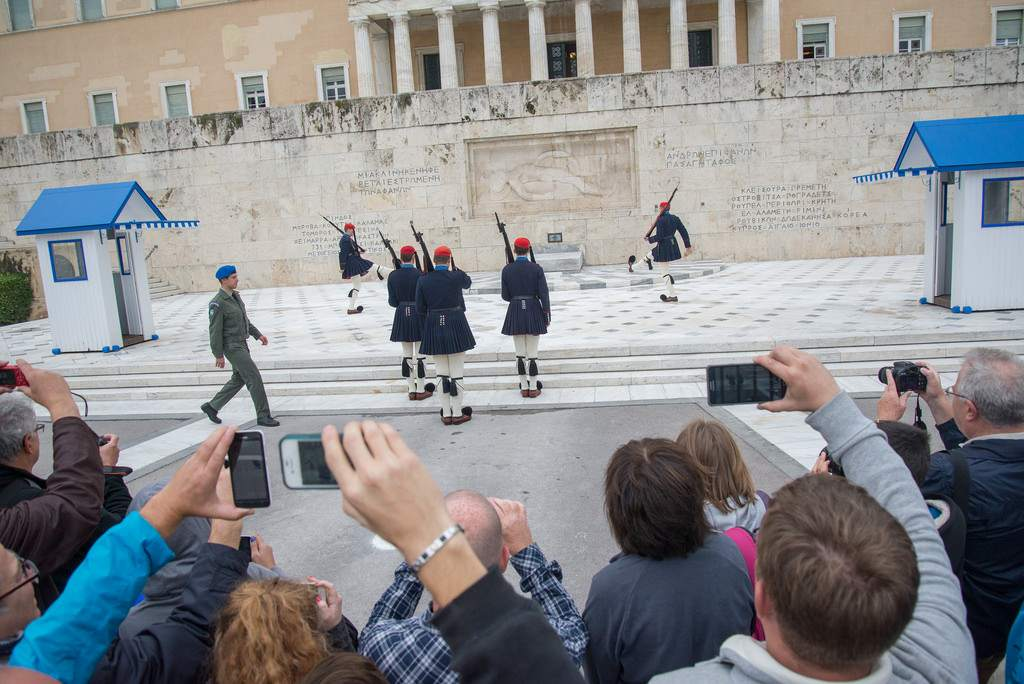 changing guards3 The Changing of Guards in Athens