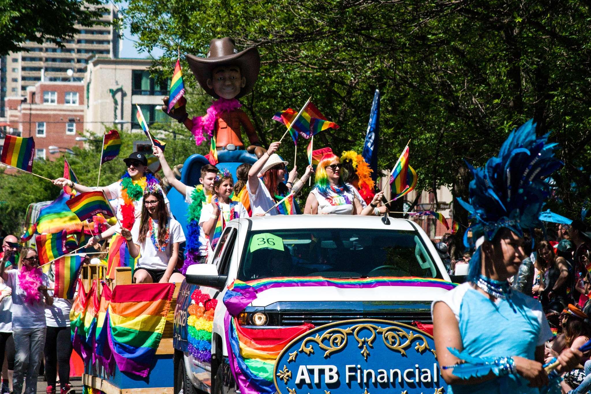 pride parade1 Edmonton Pride Parade 2016