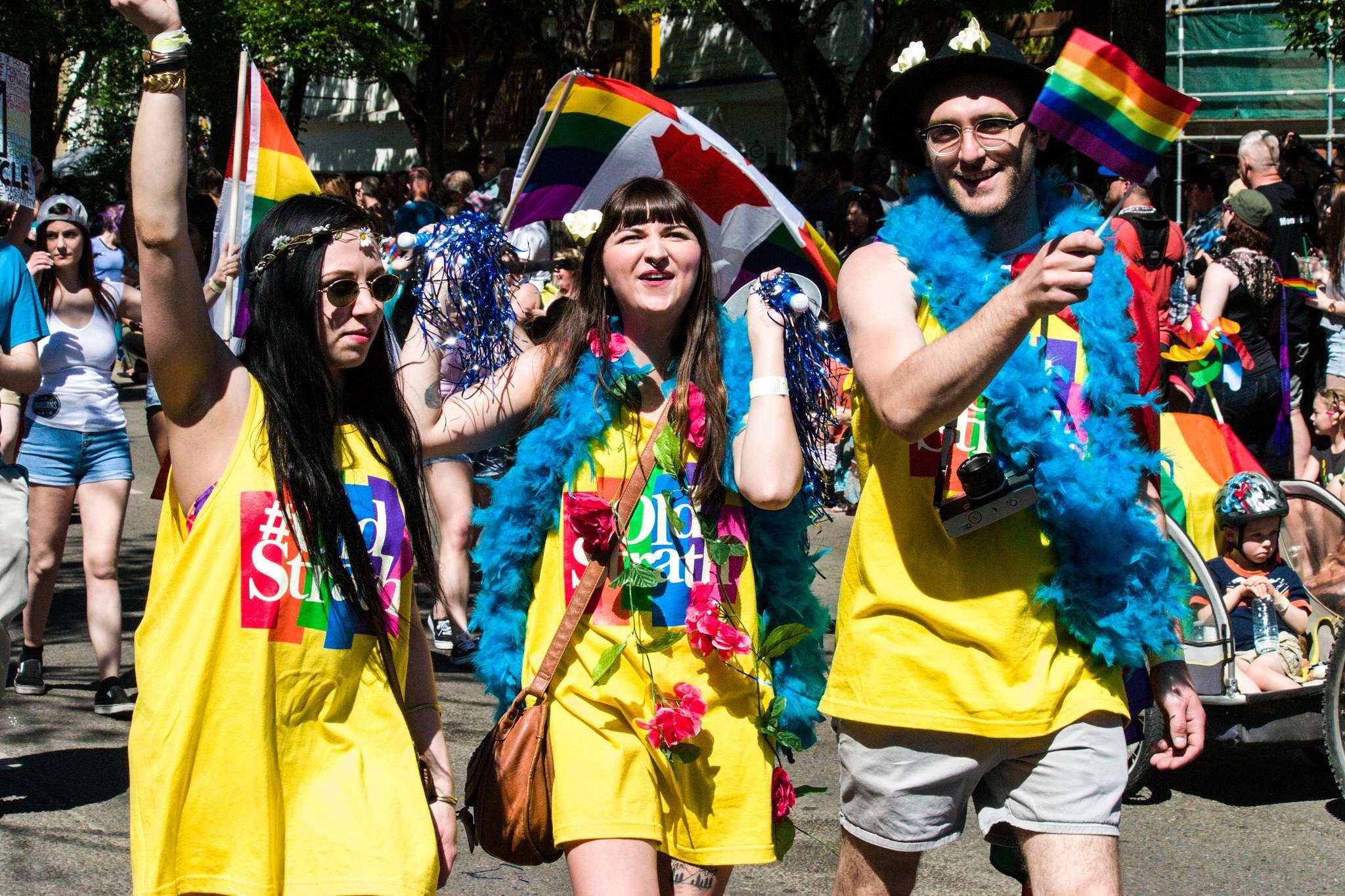 pride parade3 Edmonton Pride Parade 2016