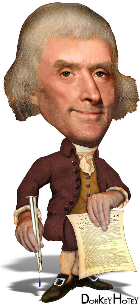 us presidents1 Funny Caricatures of US Presidents