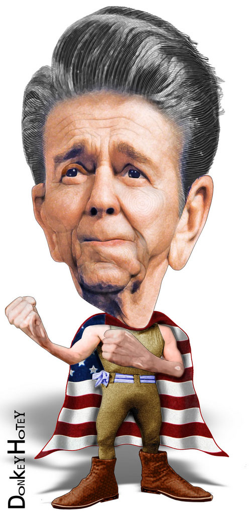us presidents5 Funny Caricatures of US Presidents