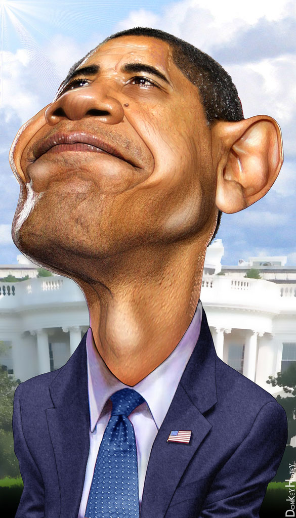 us presidents7 Funny Caricatures of US Presidents