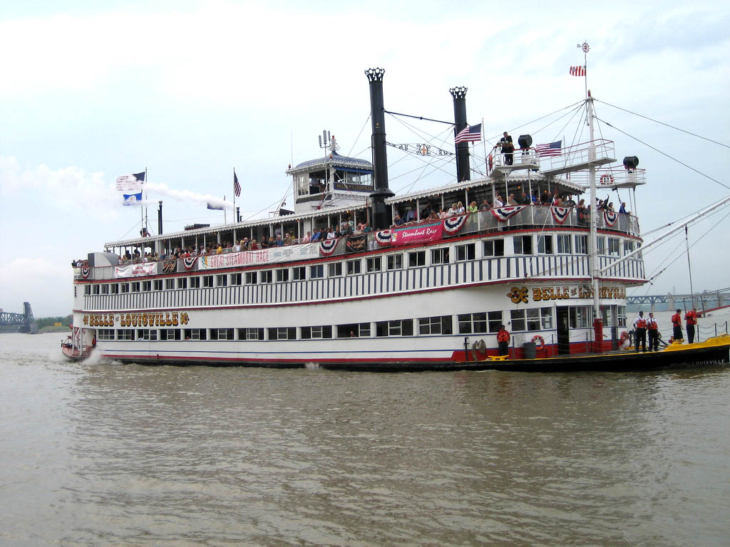 belle louisville3 Historic Belle of Louisville, Kentucky