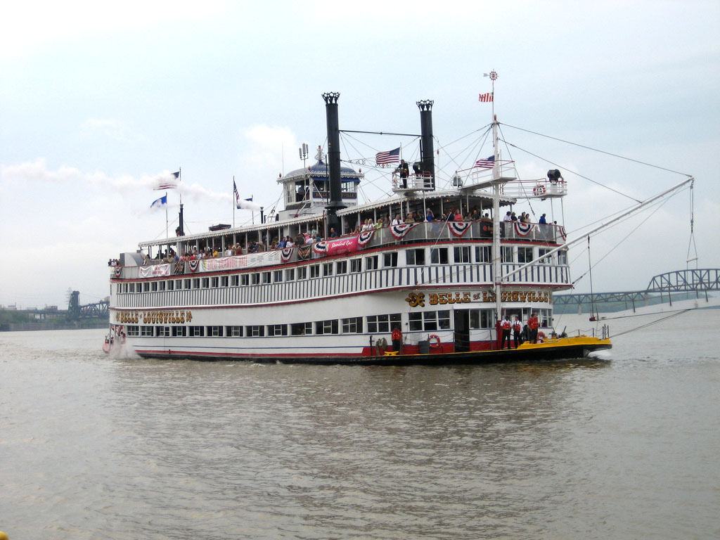 belle louisville5 Historic Belle of Louisville, Kentucky