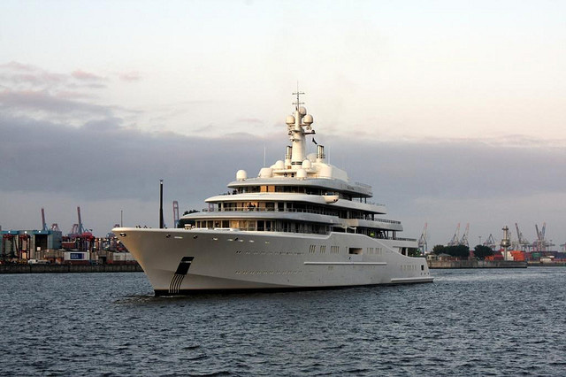 luxury yachts Top Three Biggest Exclusive Yachts