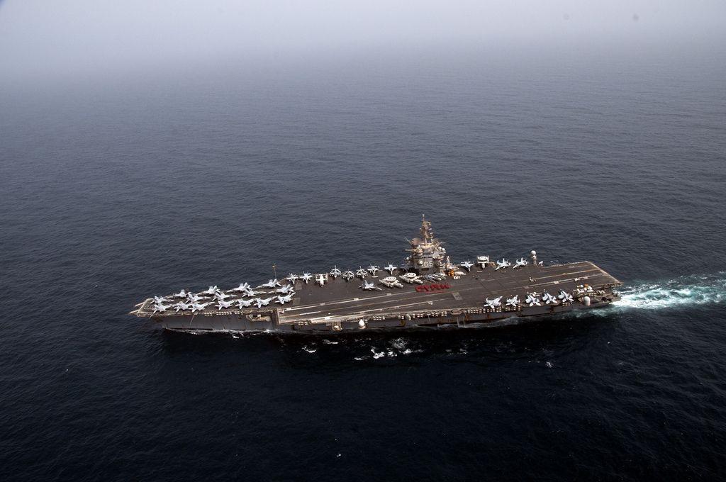 uss enterprise3 The Worlds First Nuclear powered Aircraft Carrier Shut Down Reactors