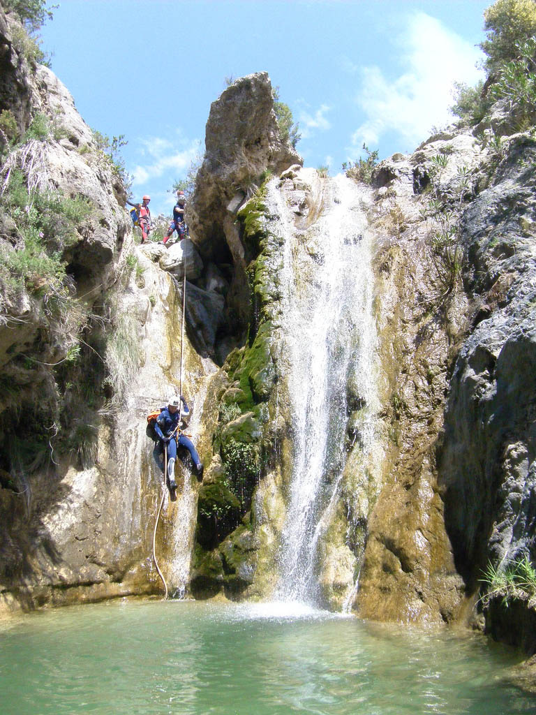 rio verde Adrenaline Canyoning Rio Verde