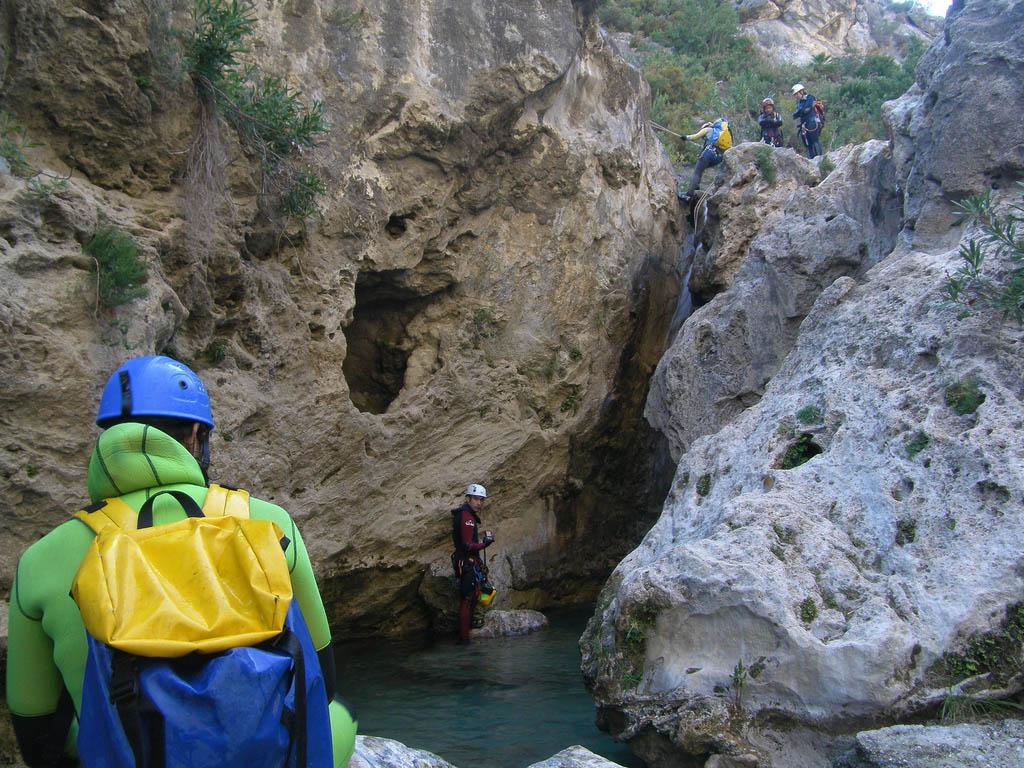 rio verde11 Adrenaline Canyoning Rio Verde