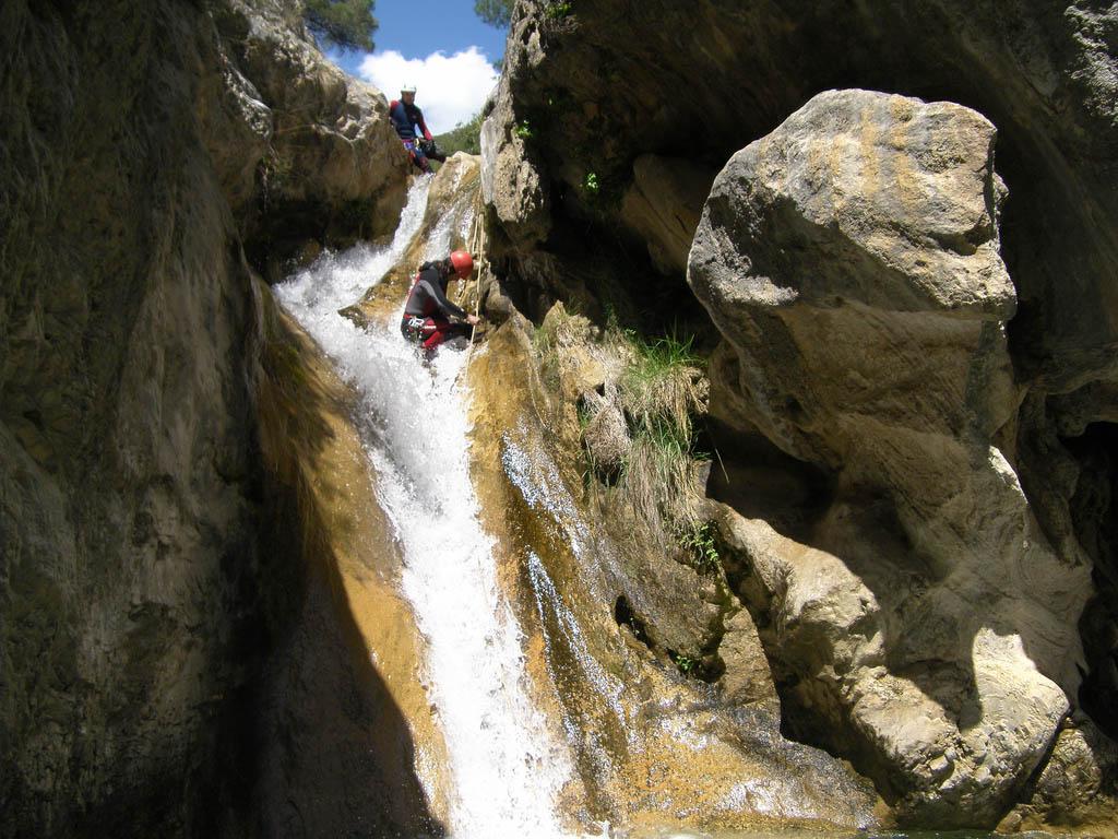 rio verde5 Adrenaline Canyoning Rio Verde