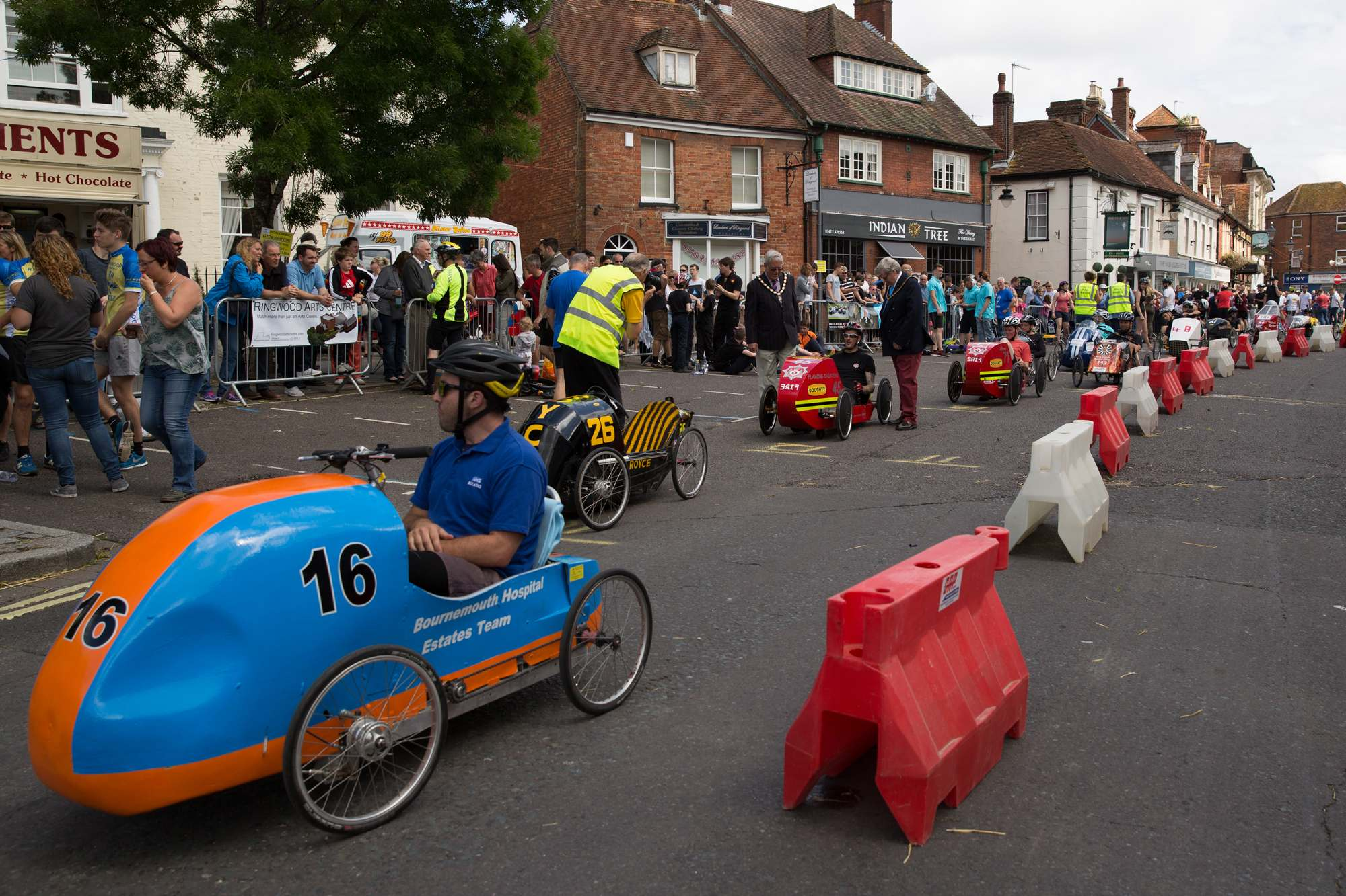pedal car grand prix8 British Ringwood Pedal Car Grand Prix 2016