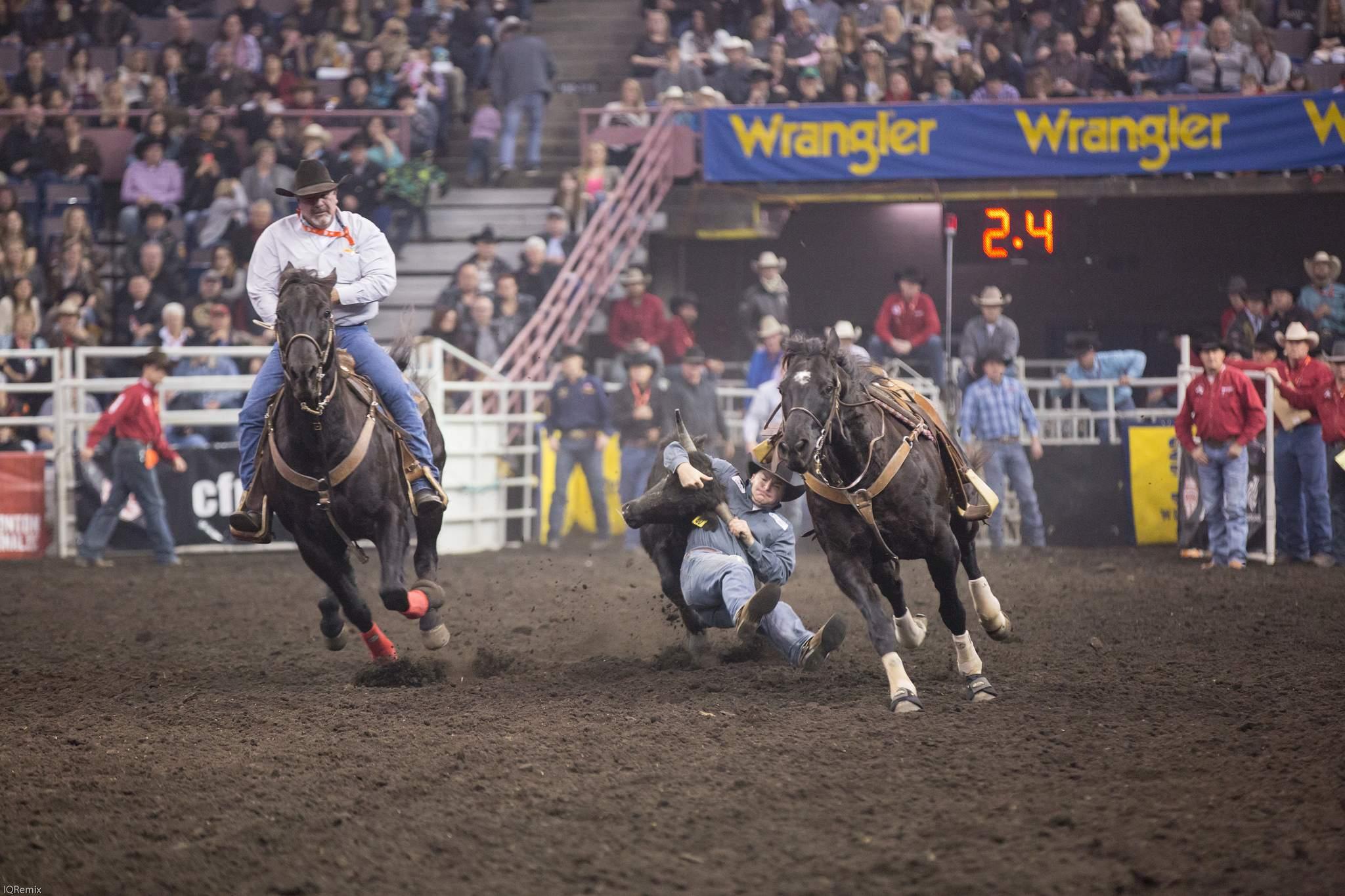 finals rodeo1 Canadian Finals Rodeo in Edmonton