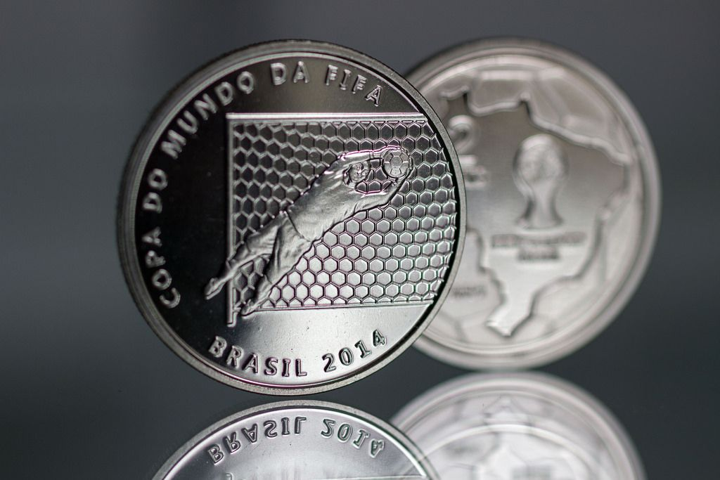 2014 brazil11 Commemorative Coins of the FIFA World Cup 2014 in Brazil