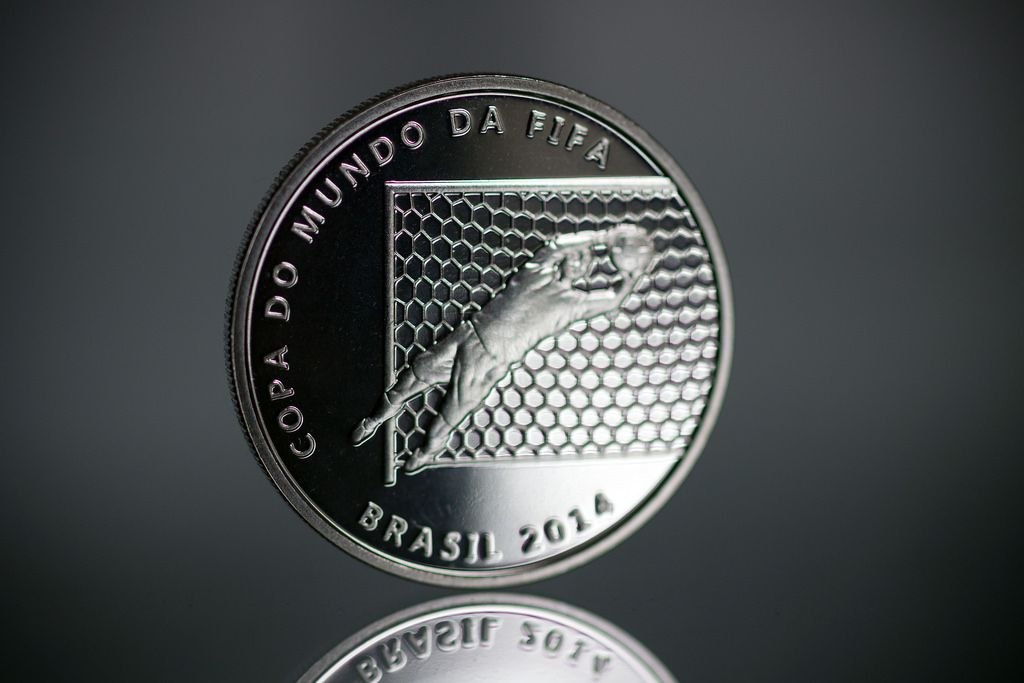 2014 brazil12 Commemorative Coins of the FIFA World Cup 2014 in Brazil