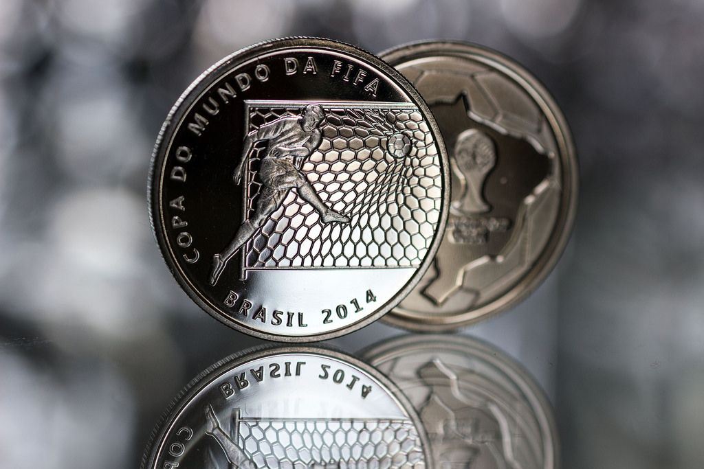 2014 brazil6 Commemorative Coins of the FIFA World Cup 2014 in Brazil