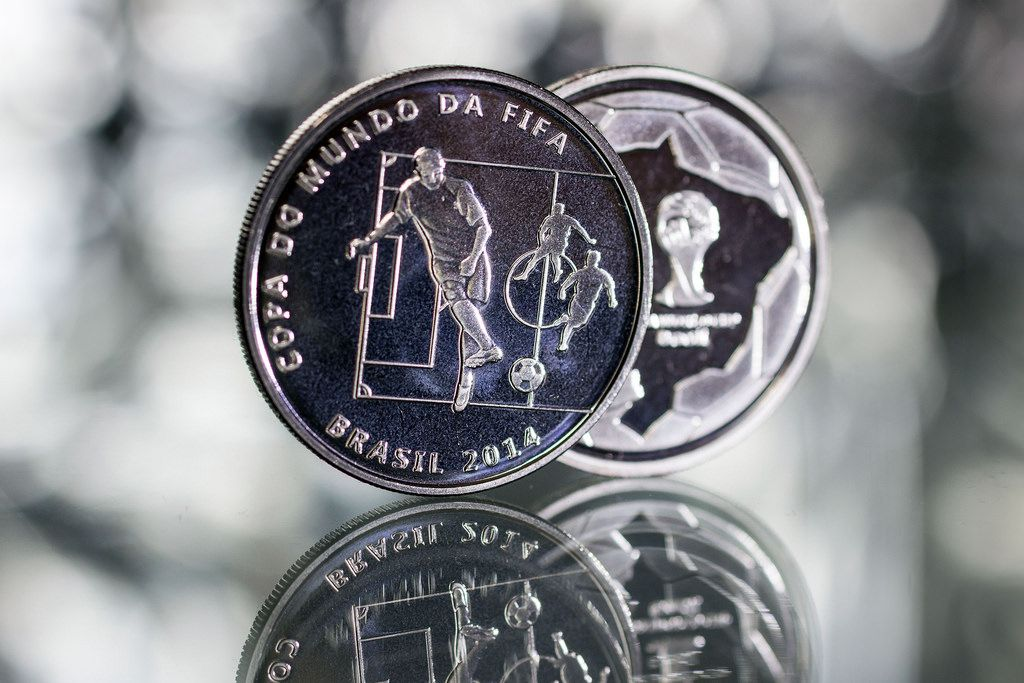 2014 brazil8 Commemorative Coins of the FIFA World Cup 2014 in Brazil