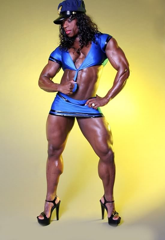 female bodybuilders1 Extreme Female Bodybuilder   Iris Kyle