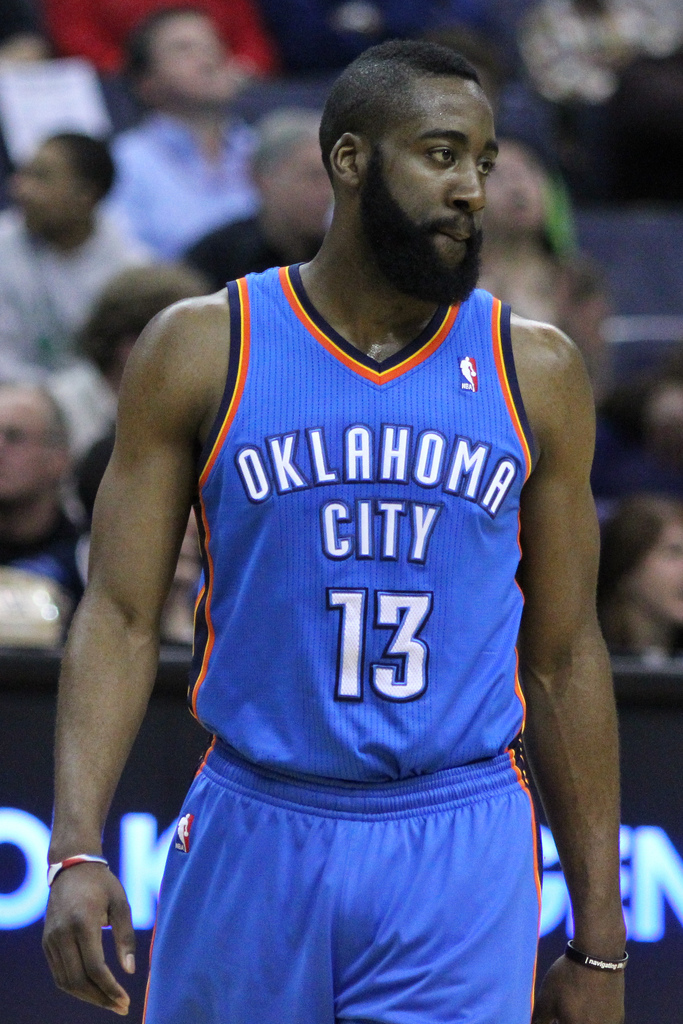 james harden1 James Harden and His Giant Beard