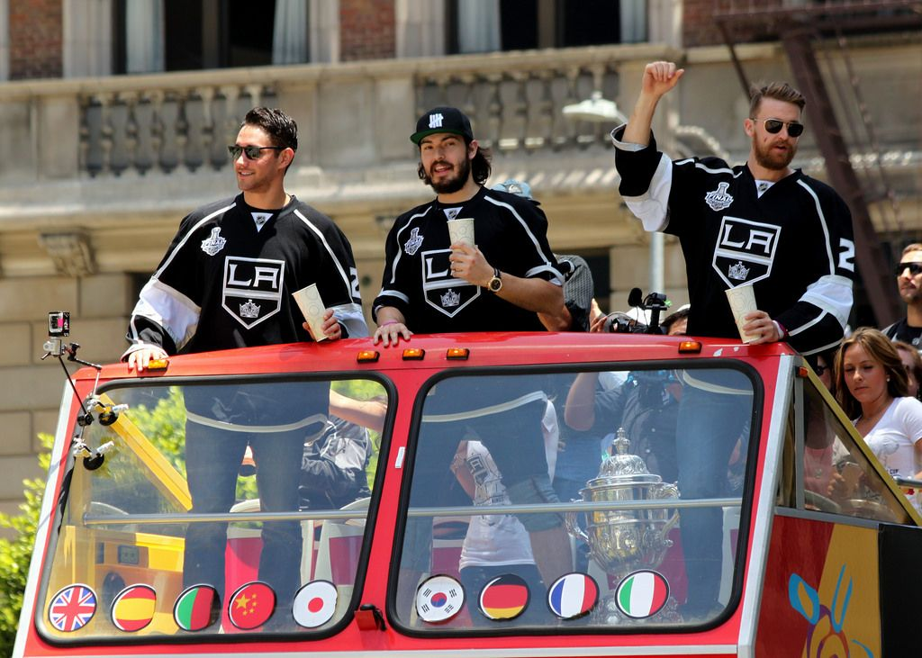 la kings9 LA Kings   Stanley Cup City Parade