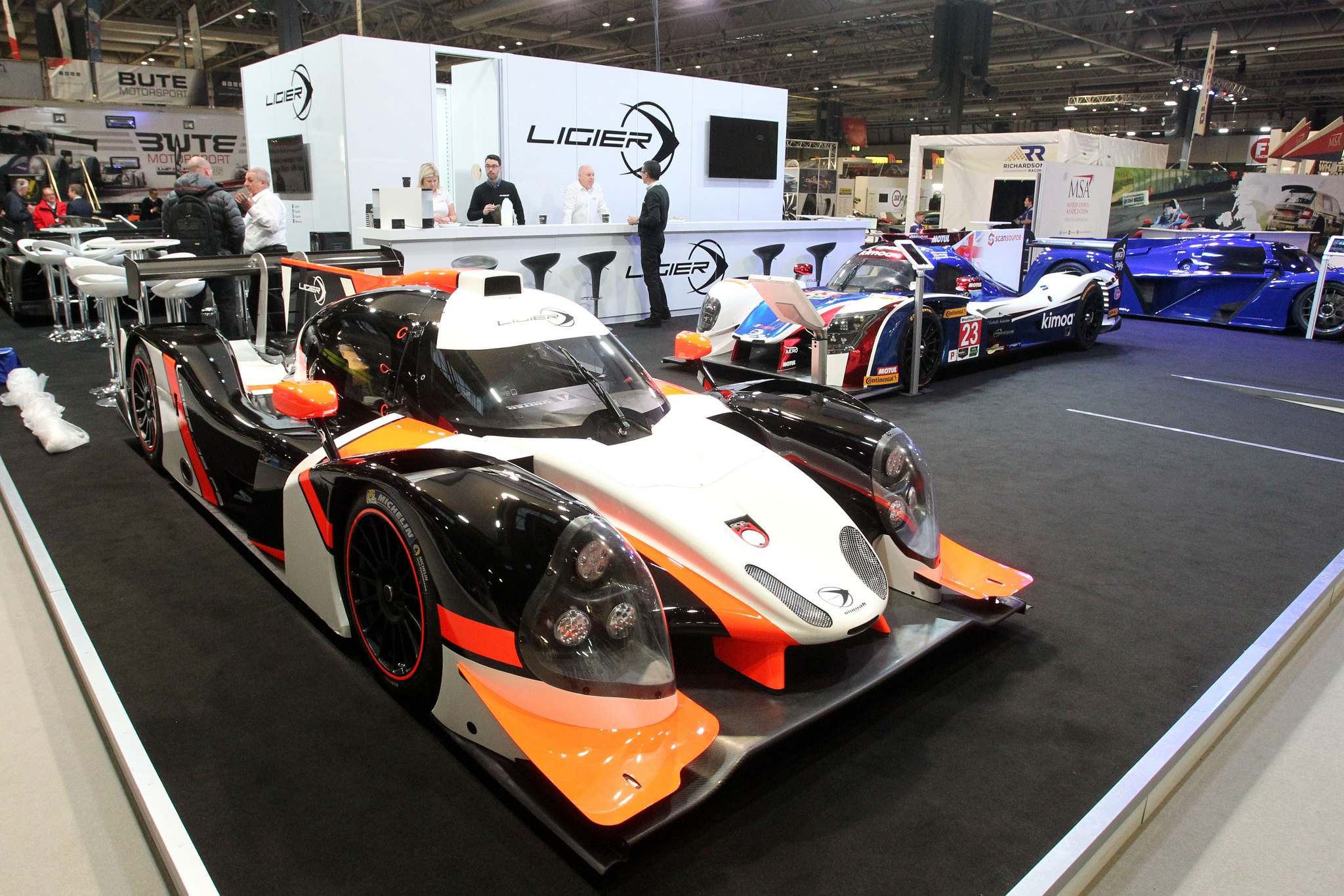 ligier 201810 Ligier at Autosport International Show 2018
