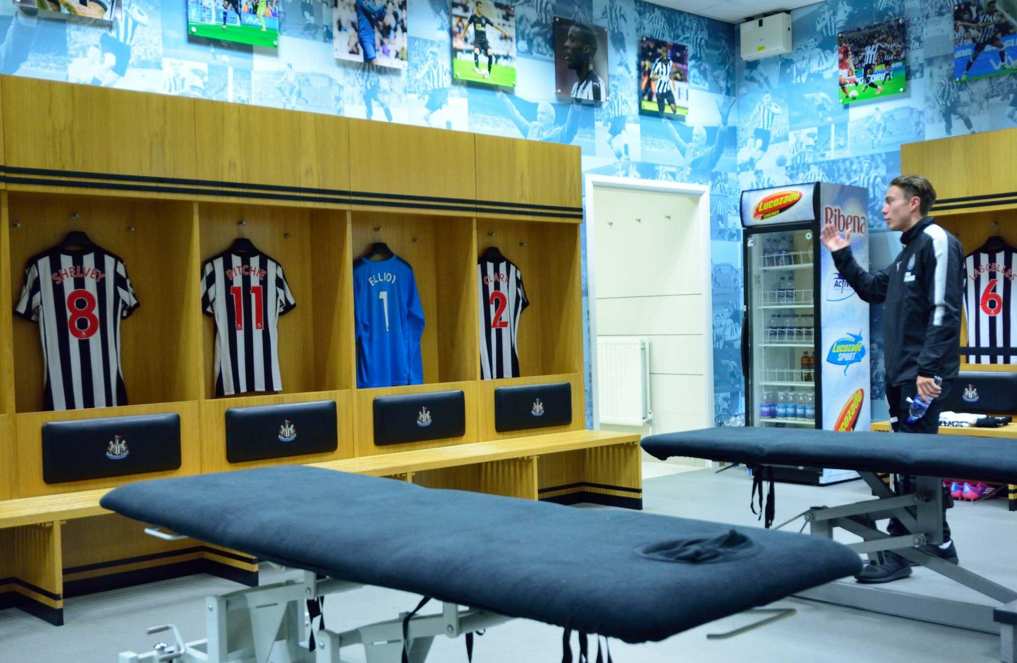 nufc tours10 Newcastle United Stadium Tours for Fans