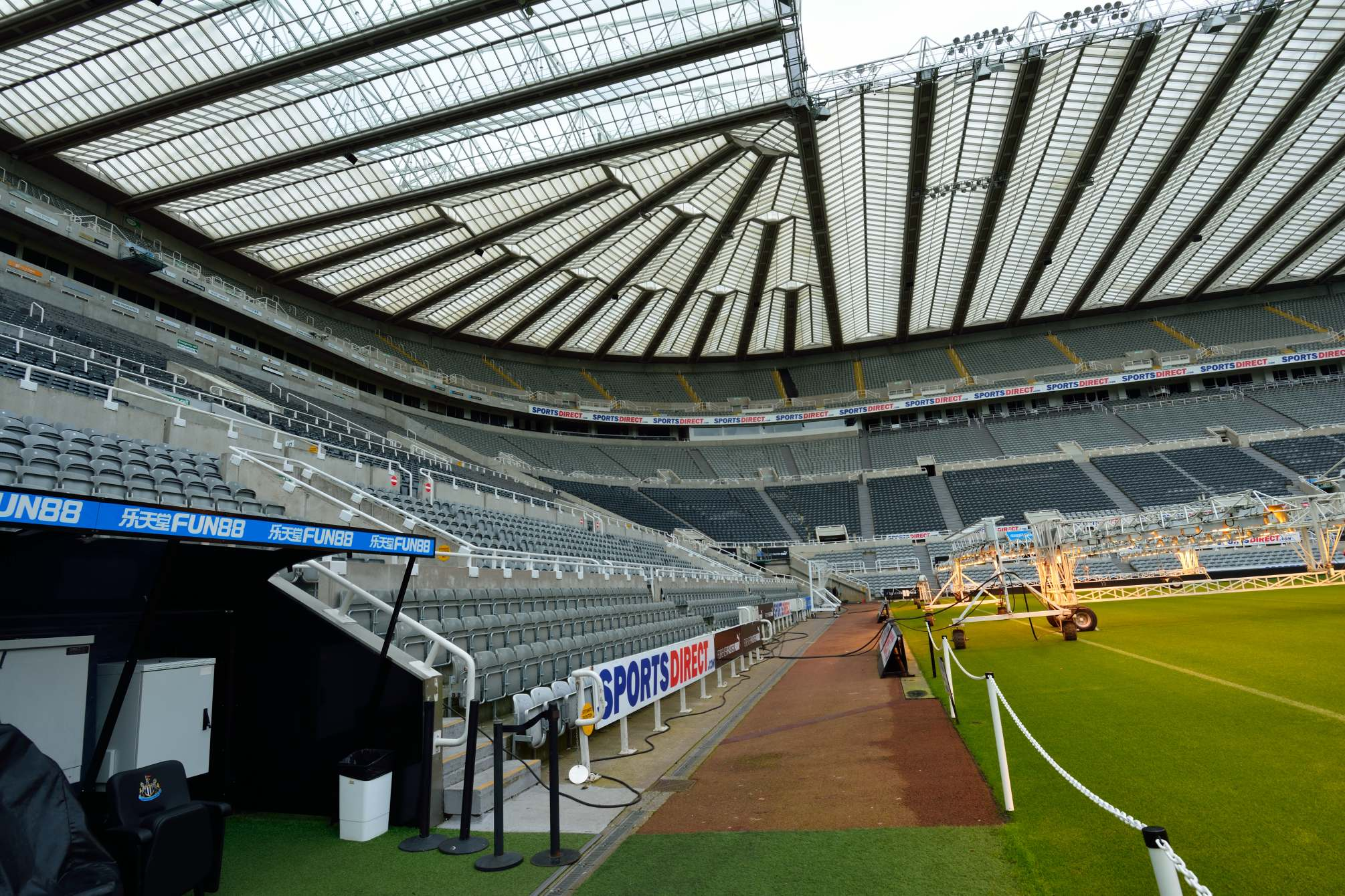 nufc tours4 Newcastle United Stadium Tours for Fans