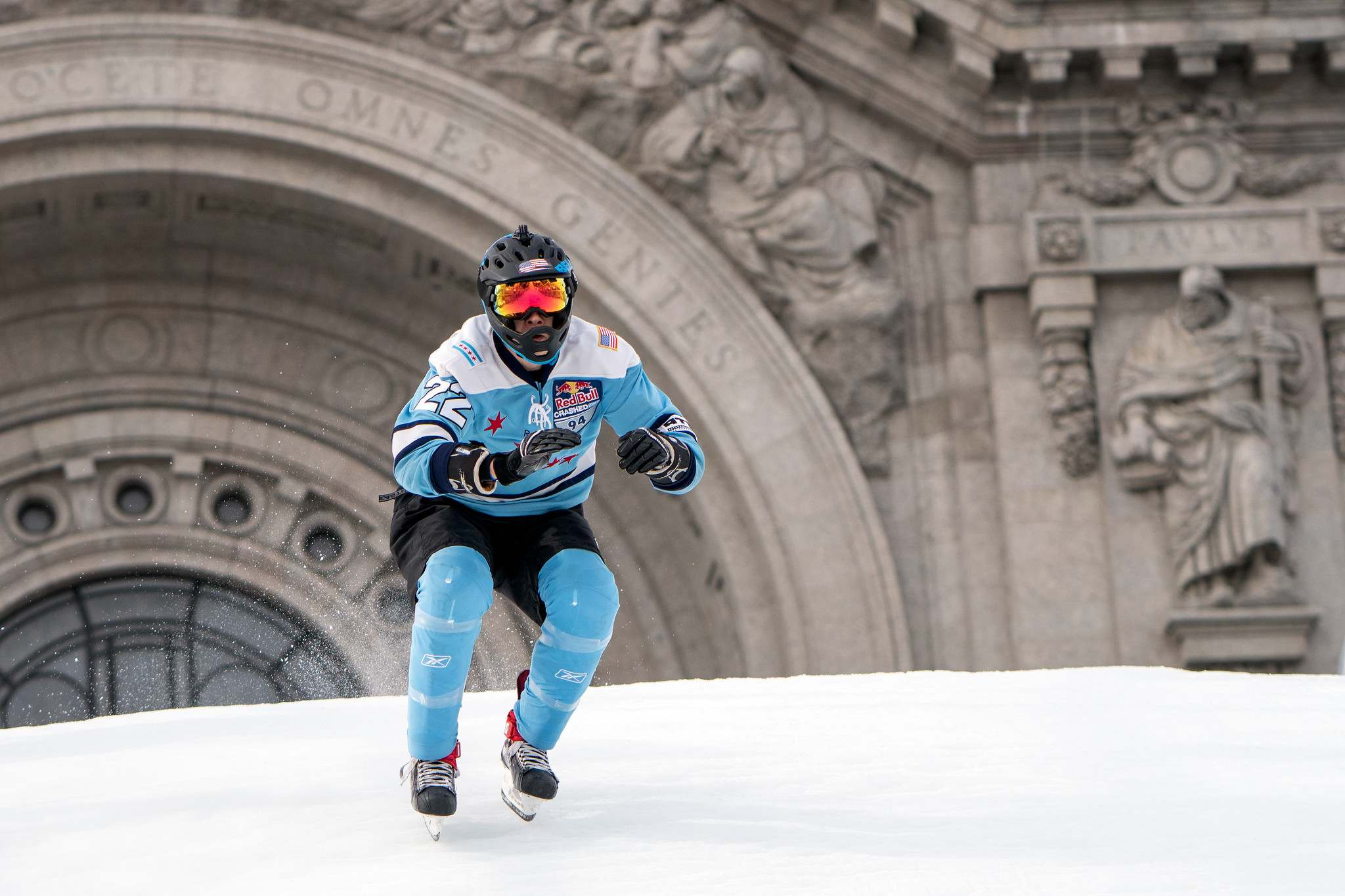 red bull crashed ice 20186 Red Bull Crashed Ice 2018 in St Paul, Minnesota