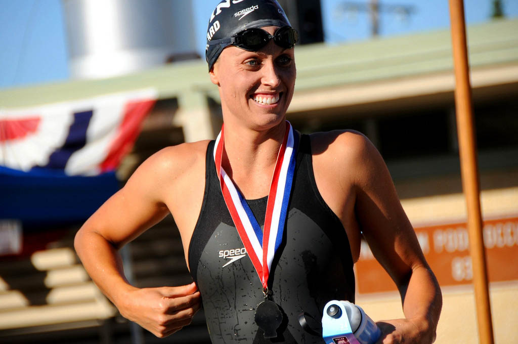 amanda beard3 Seven Time Olympic Medalist Amanda Beard