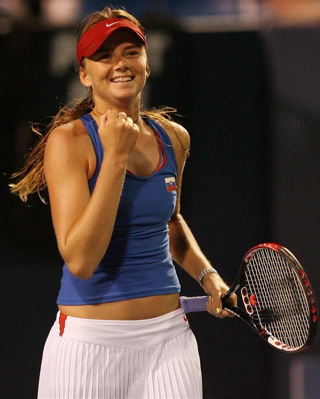 daniela hantuchova11 Slovak Beauty on Tennis Court Daniela Hantuchova