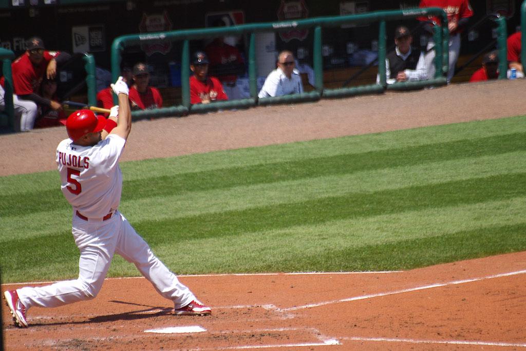 albert pujols8 St. Louis Cardinals Baseball Hero   Albert Pujols