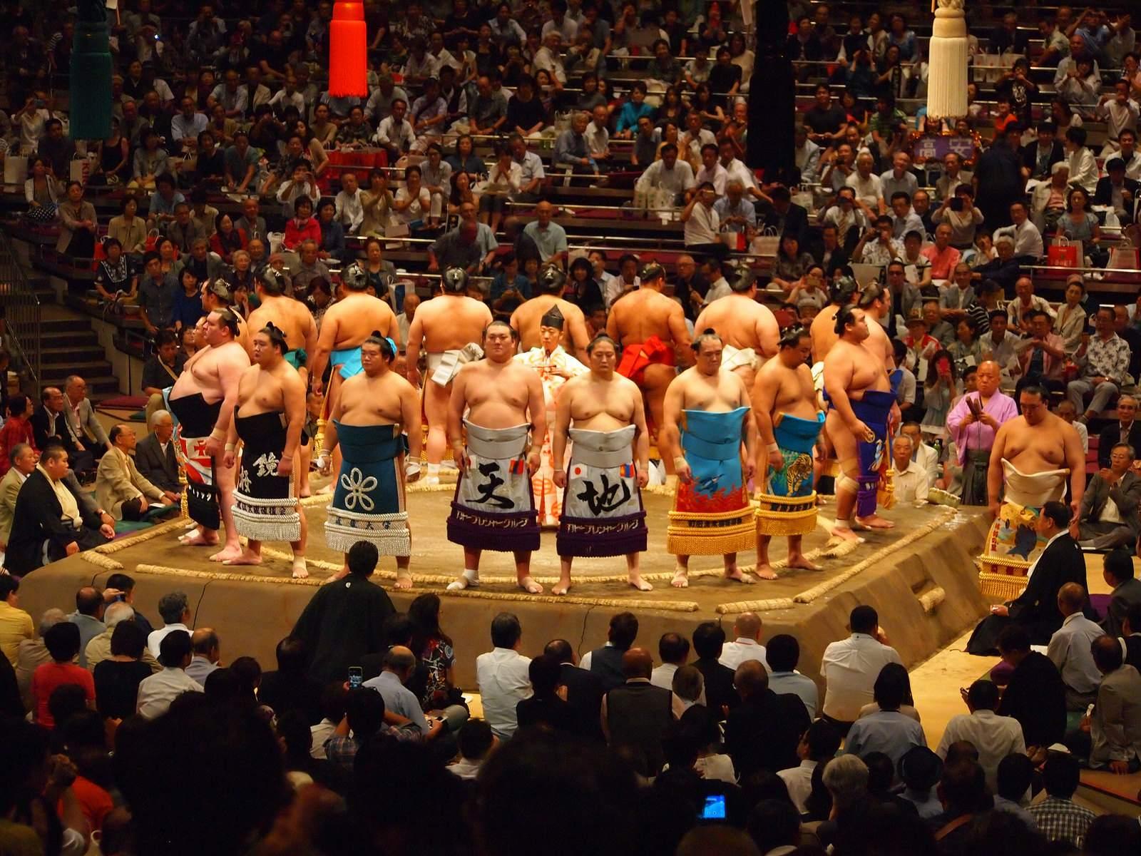 tokyo sumo Tokyo Sumo Tournament 2015