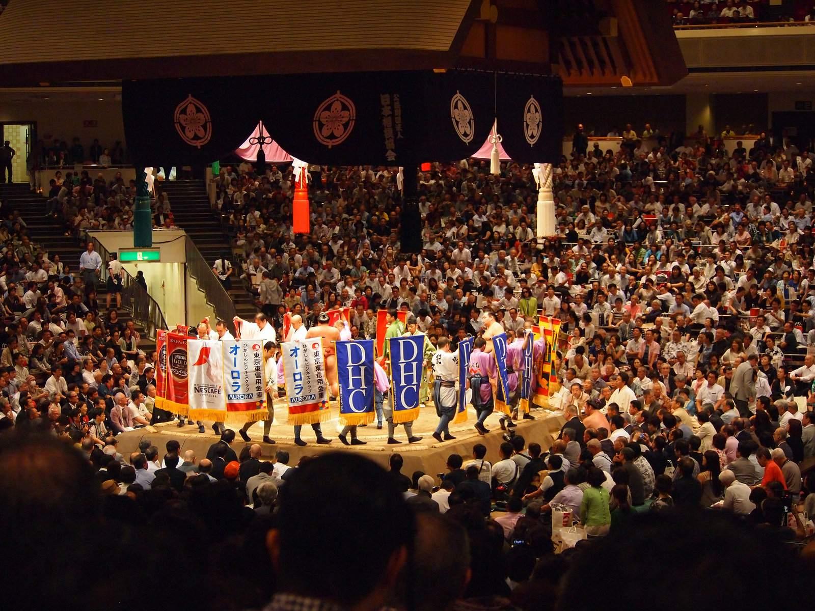 tokyo sumo1 Tokyo Sumo Tournament 2015