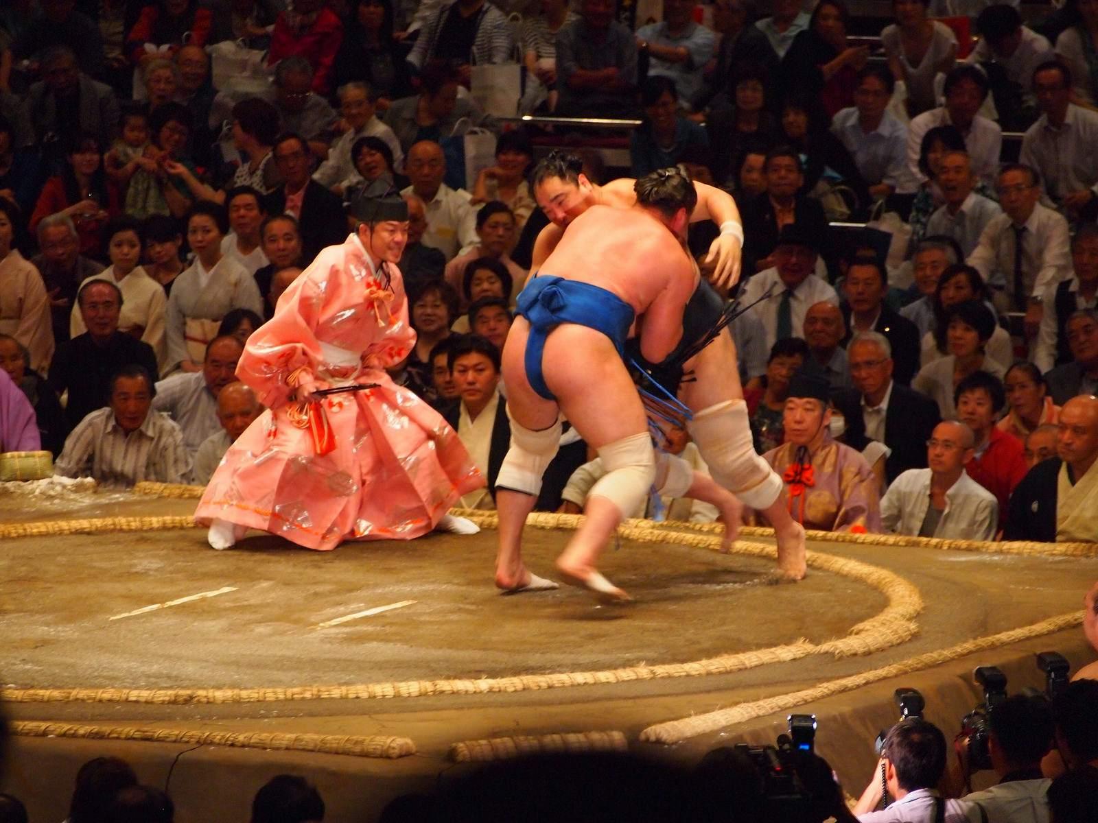 tokyo sumo3 Tokyo Sumo Tournament 2015