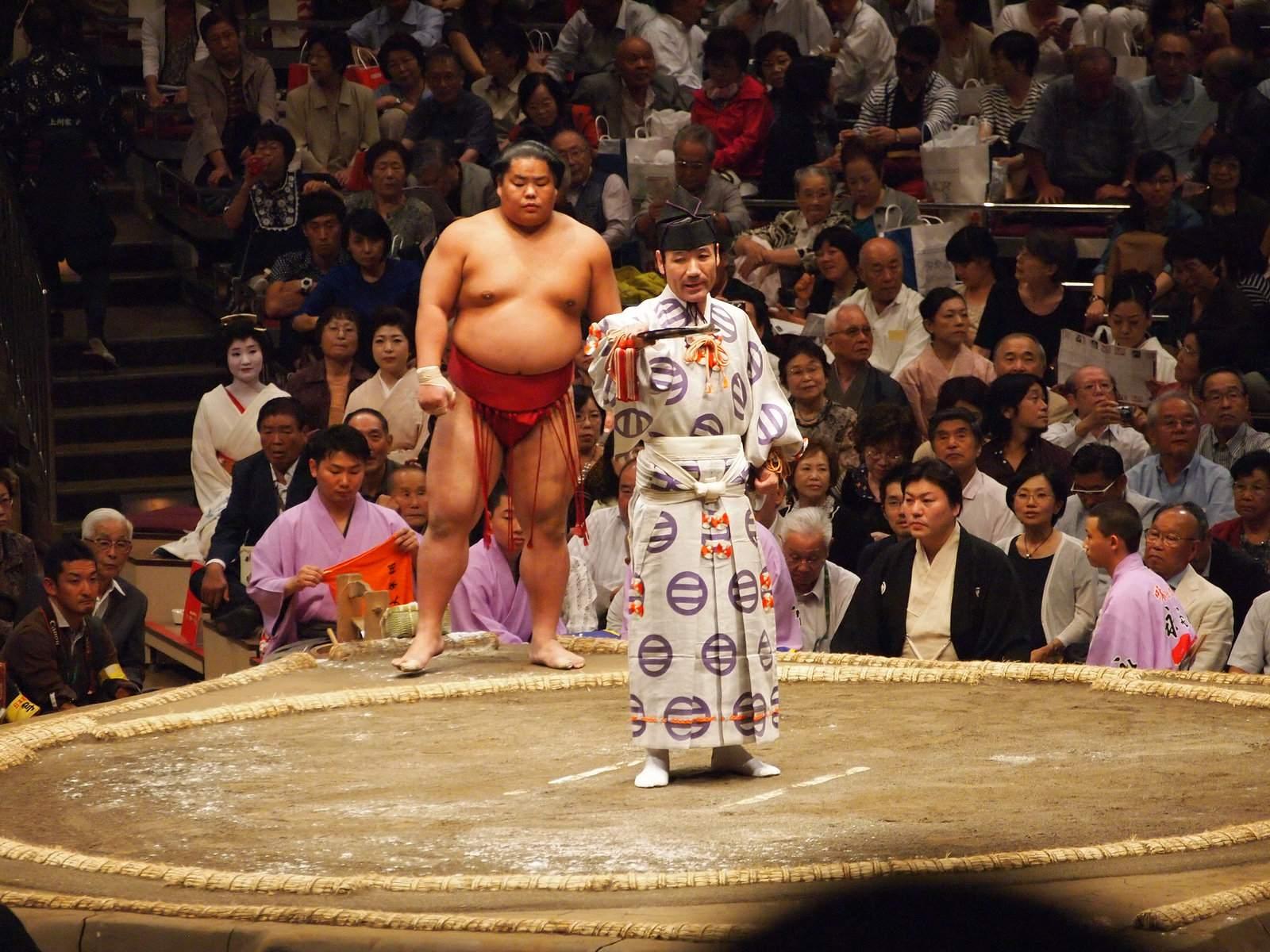 tokyo sumo5 Tokyo Sumo Tournament 2015