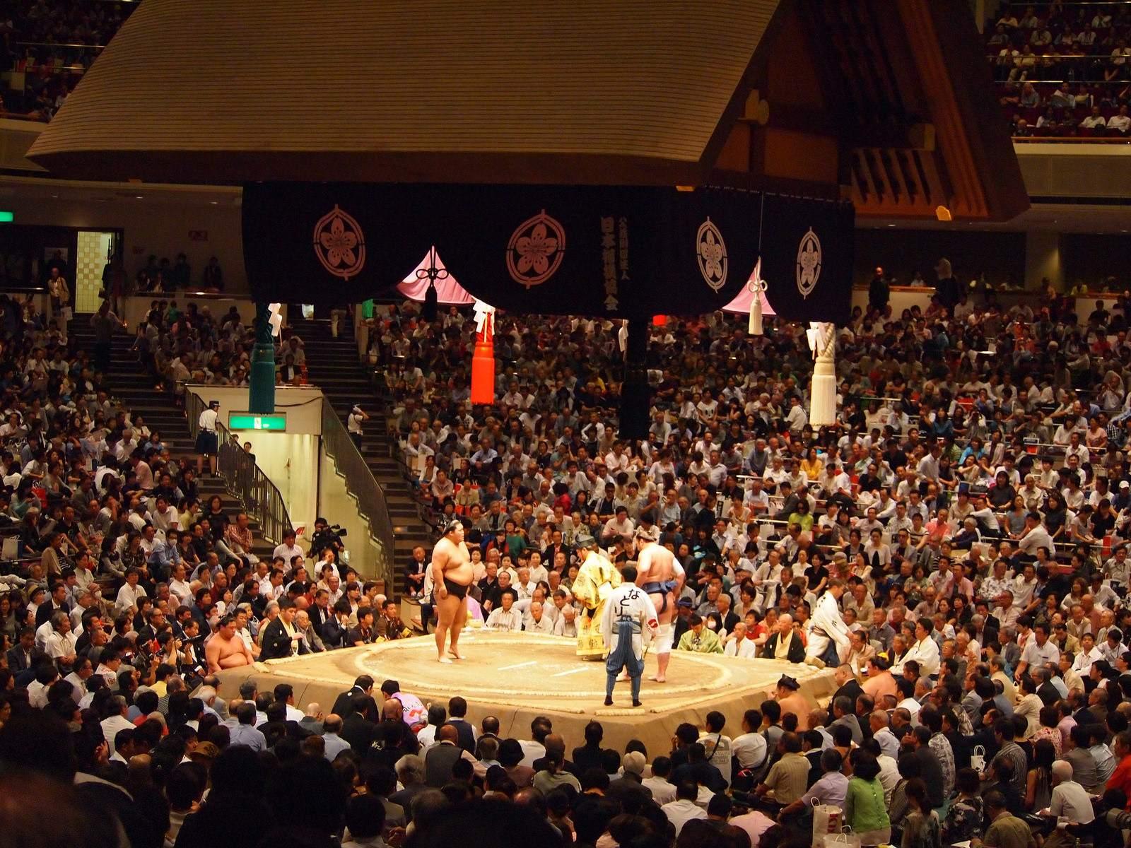tokyo sumo8 Tokyo Sumo Tournament 2015
