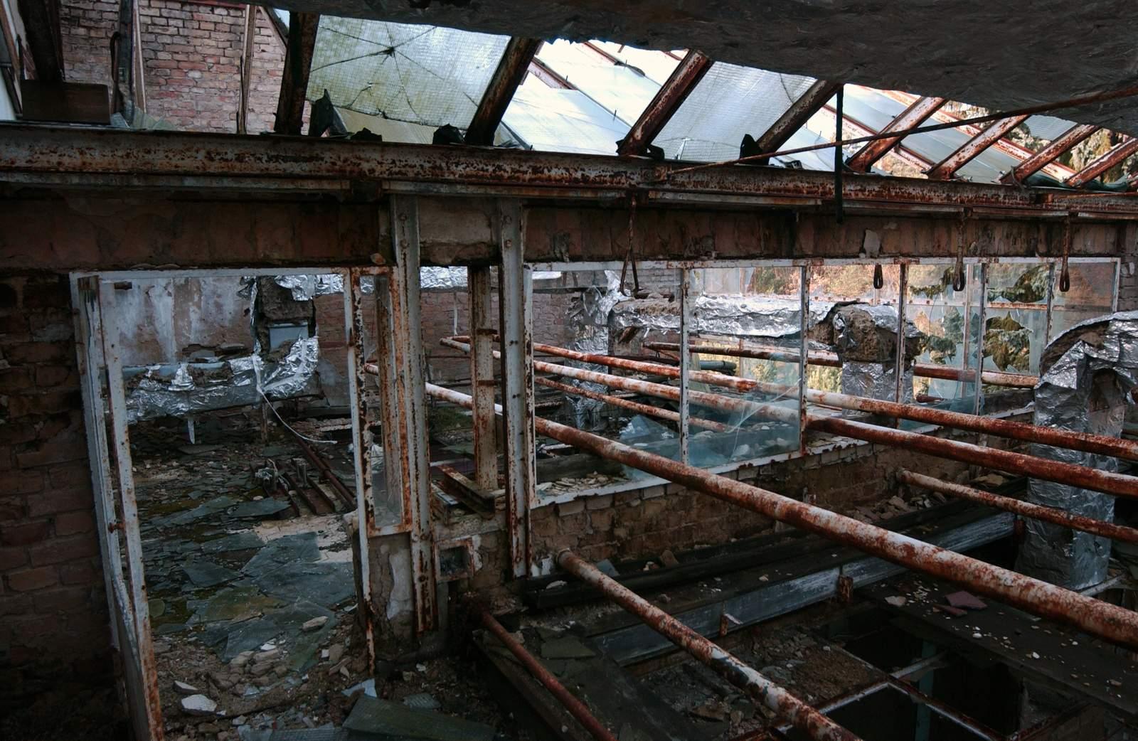 beelitz heilstatten2 Abandoned Beelitz Heilstatten Hospital