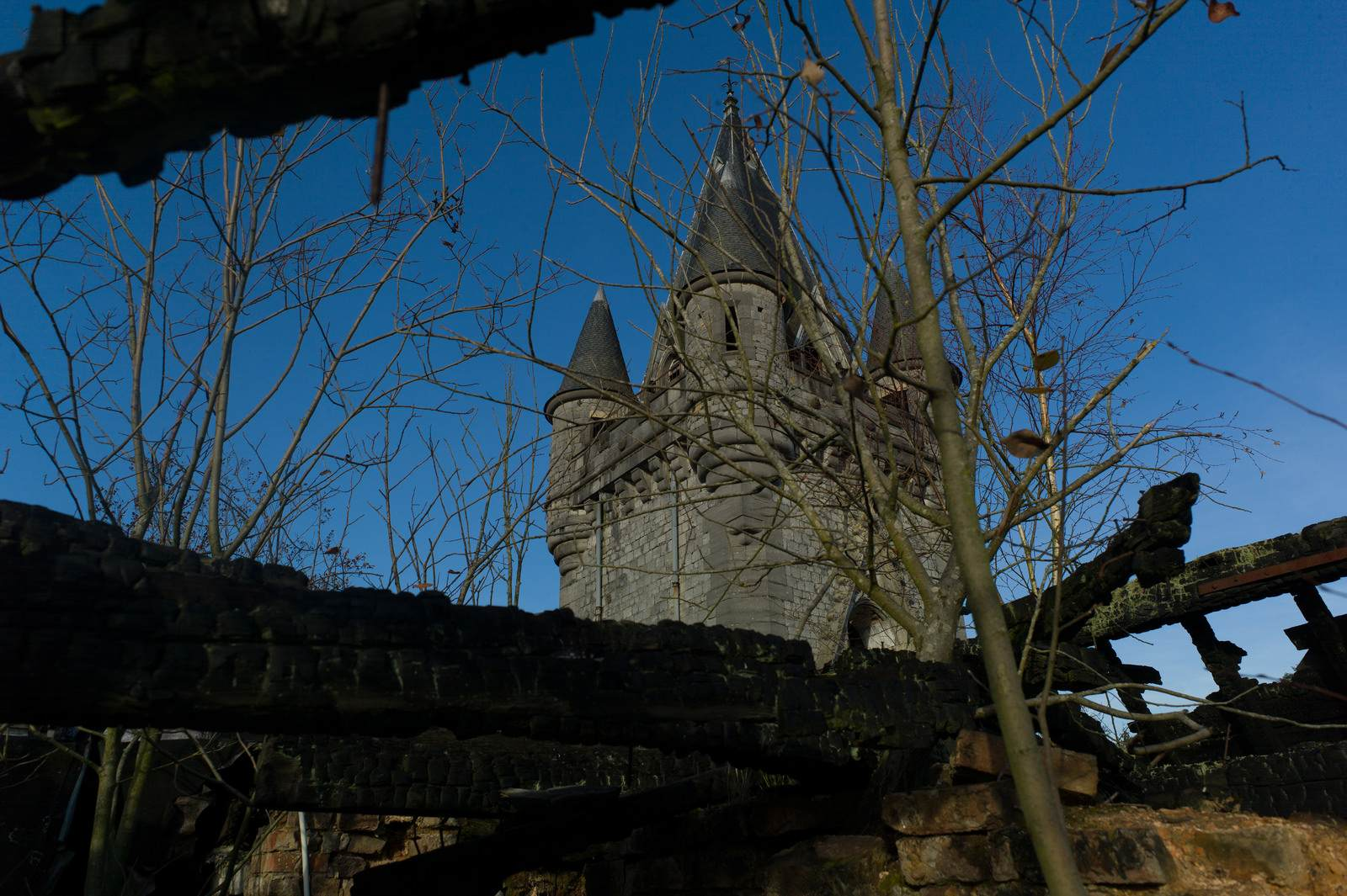 castle miranda2 The Abandoned Castle Miranda, Belgium