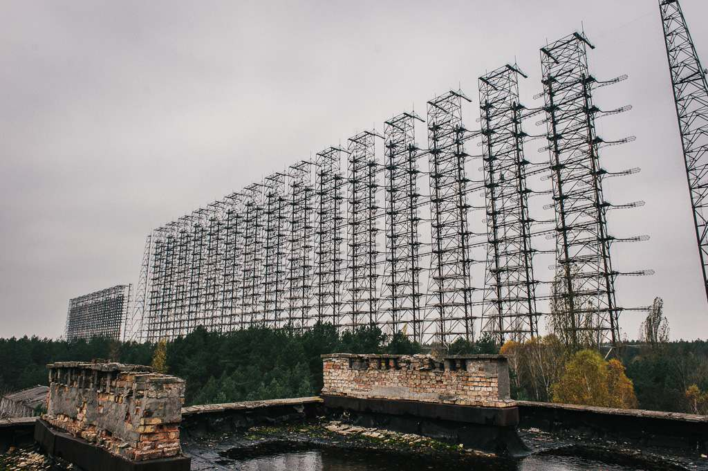 duga3 Duga known as the Russian Woodpecker   Military Radar Station in Chernobyls Irradiated Forest