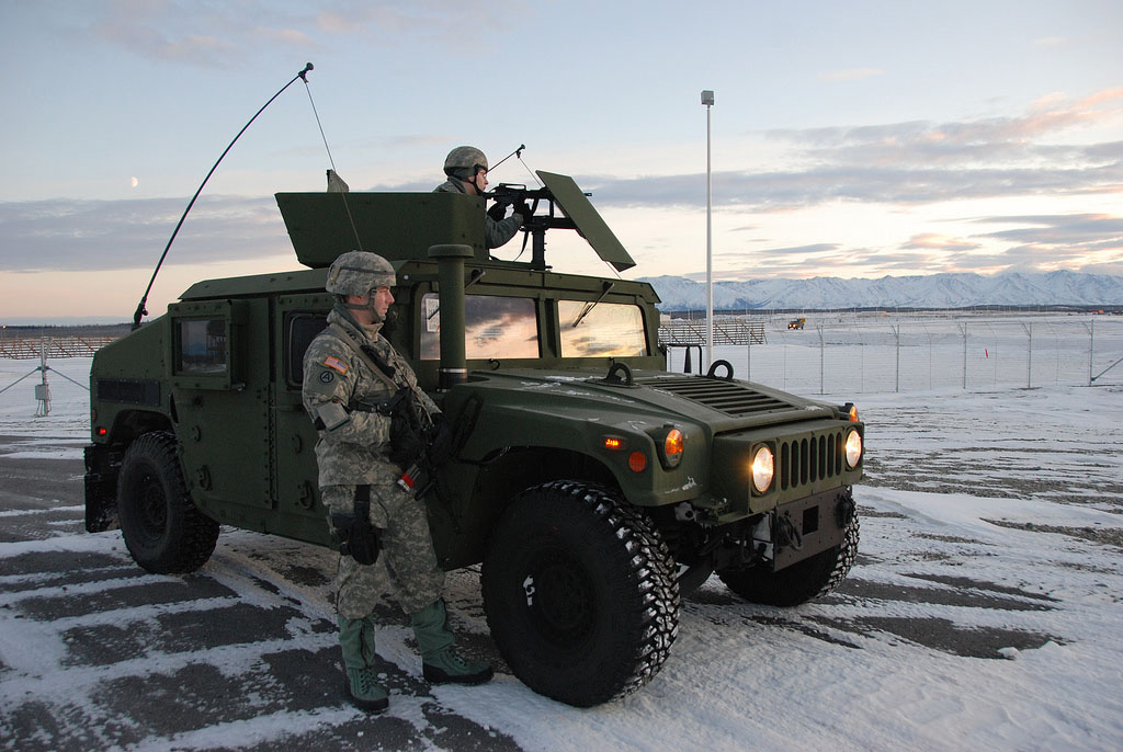 fort greely alaska4 The First Line in America`s Missile Defens