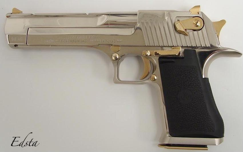 gold desert eagle6 Gold Desert Eagle