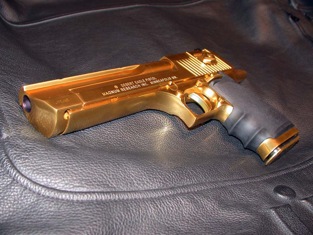 gold desert eagle9 Gold Desert Eagle