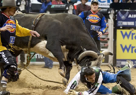 bull riding1 Little Boy Dreams About Pro Bull Rider