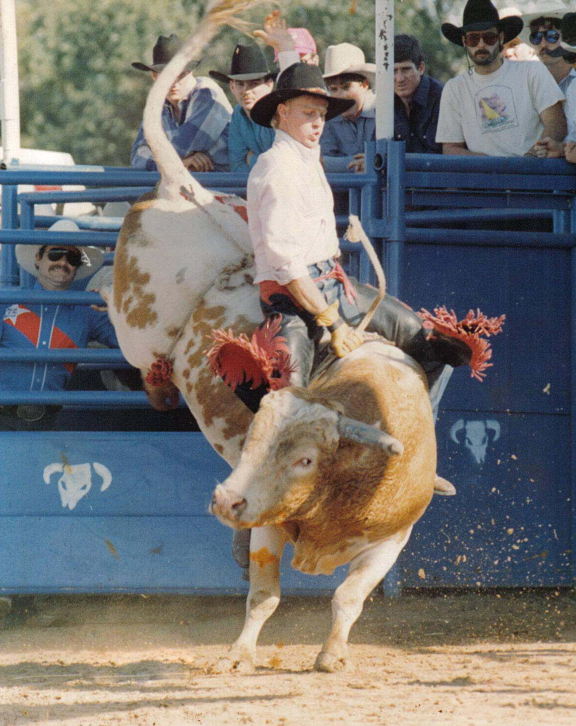 bull riding12 Little Boy Dreams About Pro Bull Rider