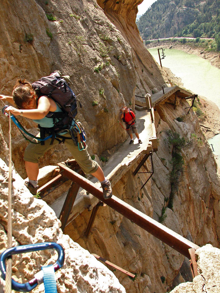 caminito del rey Most Dangerous Caminito del Rey in Spain