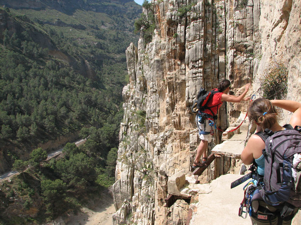 caminito del rey1 Most Dangerous Caminito del Rey in Spain
