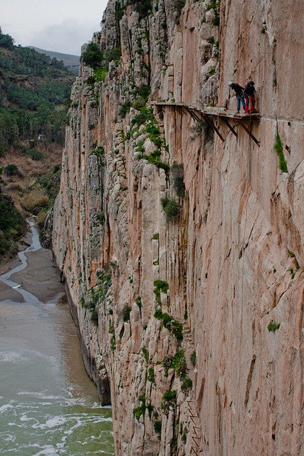 caminito del rey9 Most Dangerous Caminito del Rey in Spain