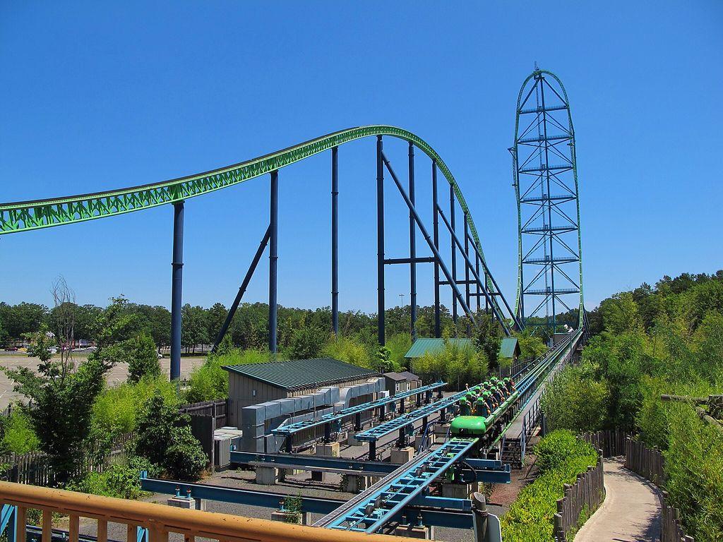 roller coaster Top Three Tallest Steel Roller Coasters