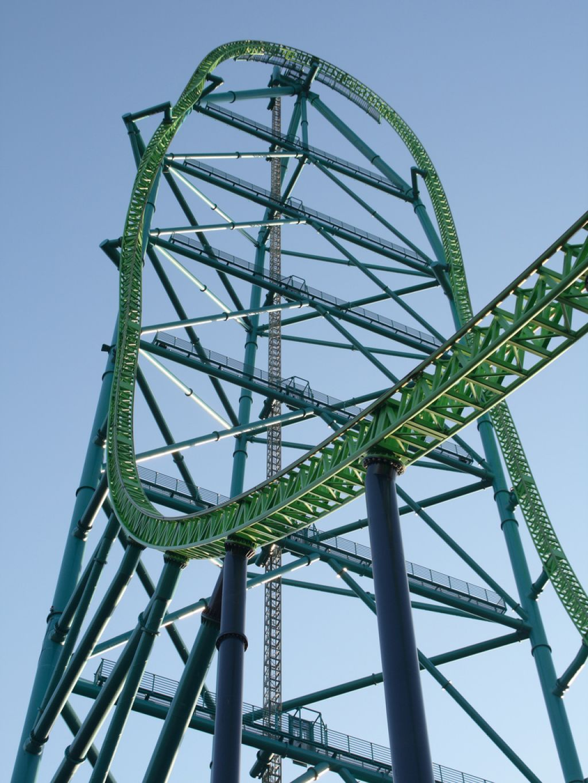 roller coaster1 Top Three Tallest Steel Roller Coasters