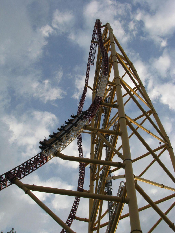 roller coaster3 Top Three Tallest Steel Roller Coasters